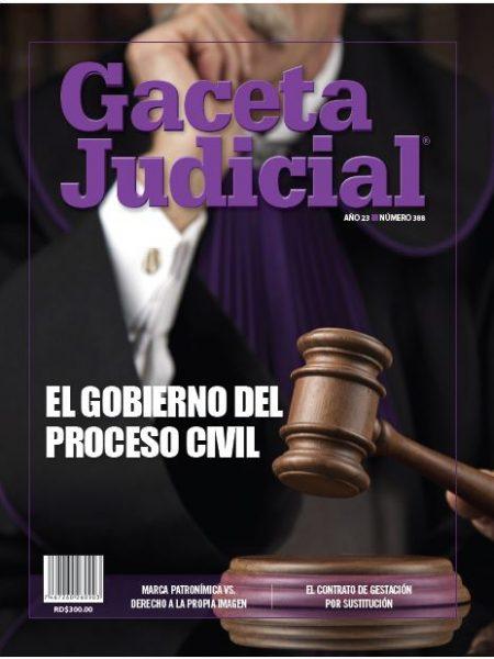 Portada Revista Gaceta Judicial núm. 388
